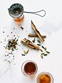 Chai tea and spices