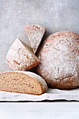 Traditional German farmhouse bread
