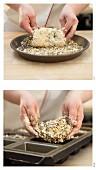 Steinzeit-Brot mit Kernen und Samen (Paleo) zubereiten