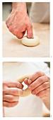 Bagels formen
