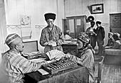 Turkmenian collective farm income, USSR, 1930s