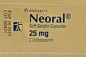 Ciclosporin immunosuppressant drug