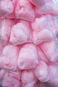 Bags of candyfloss