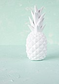 A white porcelain pineapple decoration