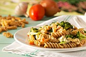 Wholegrain fusilli with broccoli