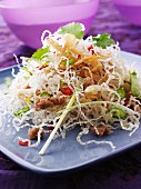 Mee Krob (deep-fried rice noodles, Thailand)