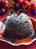 Glace Fruit Christmas Pudding