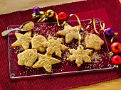 Ginger ornamental cookies