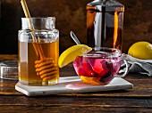 Hot Toddy mit Honig (winterliches Heissgetränk mit Alkohol)