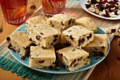 Trail mix blondies
