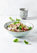 Basmati-Reissalat mit Thunfisch und Gemüse