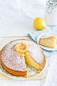 Torta al limone (Italian lemon cake)