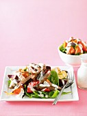 Warm Beef and Vegetable Salad