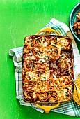 Bolognese-Lasagne-Röllchen