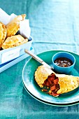 Tandoori vegetable pasties