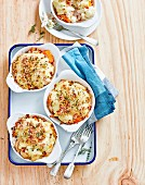 Creamy Chicken Gratins with Bechamel