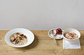 Bircher muesli with apple