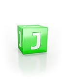 Green cube, J.