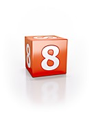 Red cube, 8