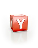 Red cube, Y