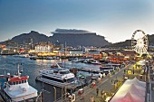 The Victoria & Alfred Waterfront in Cape Town, South Africa