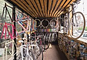 A bicycle store in Maboneng, Johannesburg, South Africa