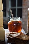 Honig, Käse und Brot