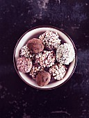 Hazelnut truffes cookies (Italy)
