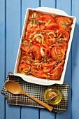 Tomato gratin with thyme