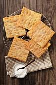 Oreillettes (lard pastries, France)