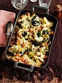 Broccoli bake with cheese
