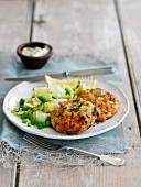 Scottish fishcakes with dill