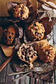 Muffins mit Chocolatechips