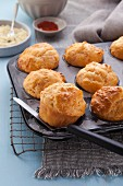 Emmental muffins with buttermilk