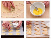 How to make lemon shortbread hearts