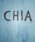 The word 'chia' in chia seeds
