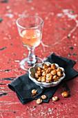 Savoury spiced lupines