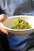 Pasta mit Pesto