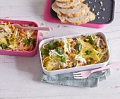 Mango coleslaw with sweetcorn and coriander