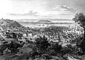 19th Century San Francisco, illustration