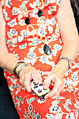TV remote for person with dementia