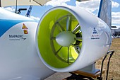Electric aircraft engine.