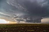 Tornadoes, Kansas, USA