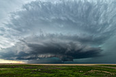 Supercell thunderstorm, Colorado, USA