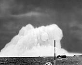 Operation Wigwam nuclear bomb test, 1955