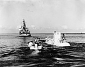 Trieste bathyscaphe, 1960