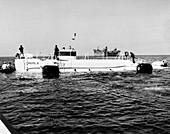 Trieste II bathyscaphe, 1963