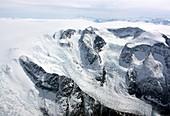 Glaciers in southwest Greenland, April 2012