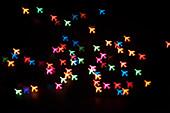 Bokeh aircraft shapes