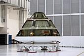 Orion crew module test model, 2012